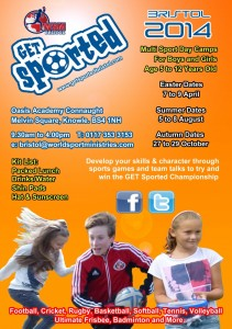 Get Sported Bristol - April Camp @ Oasis Academy Connaught  | Bristol | United Kingdom