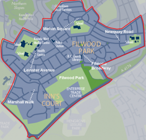 Proposed no public drinking zone for the Filwood ward