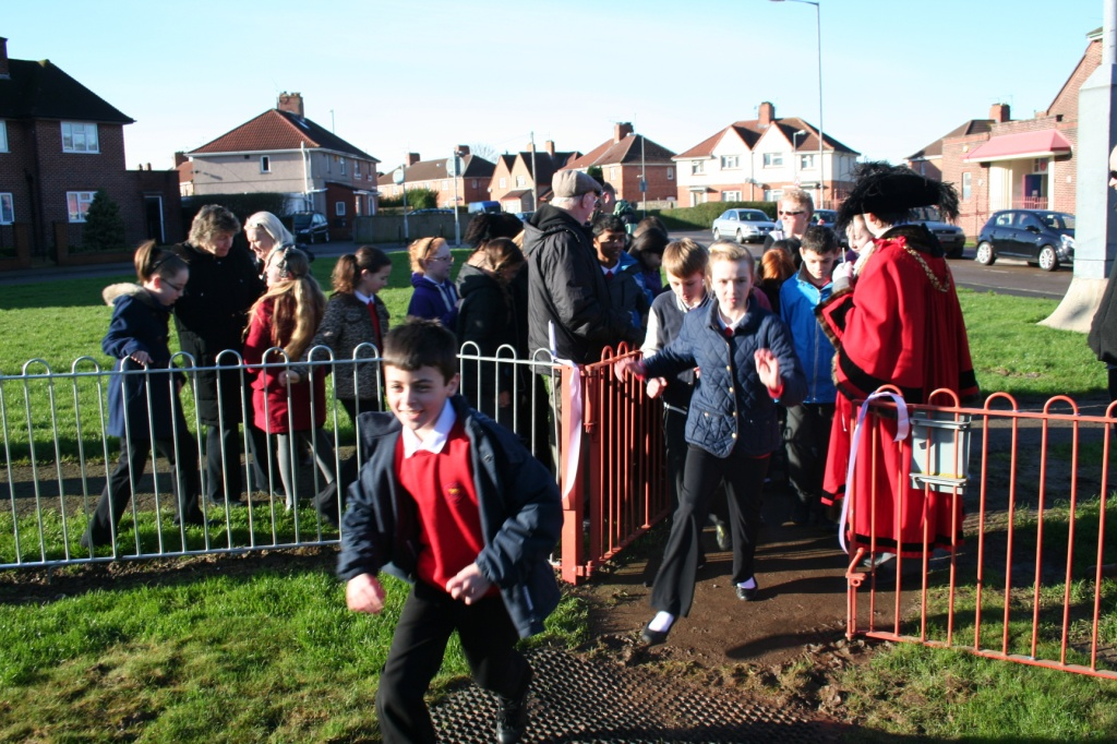 Opening of Filwood Play Area