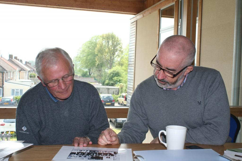 Phil and Bob at SM