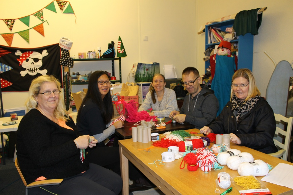Craft session at Healthy Life Shop