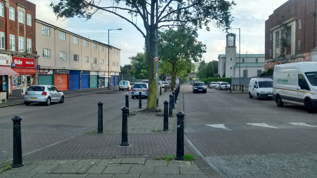 Filwood Broadway has been identified as a potential site for a supermarket. Picture Len Wyatt.
