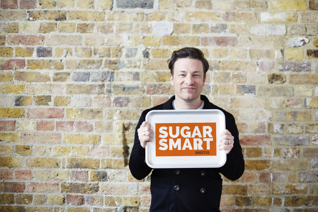 jamie with sugar smart Bristol