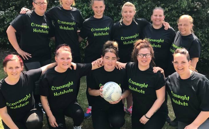 Back to school sports with new mums' netball team