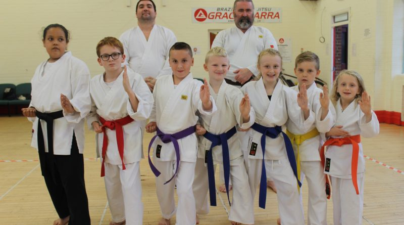 Multiple awards for Filwood karate group