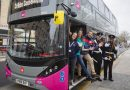 New m1 metrobus launches with biogas vehicles