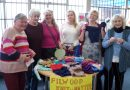Local knitting group features in national magazine