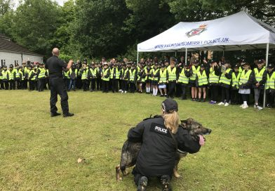 Local primary pupils celebrate involvement in Mini Police