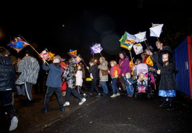Filwood Illuminations light up Knowle West