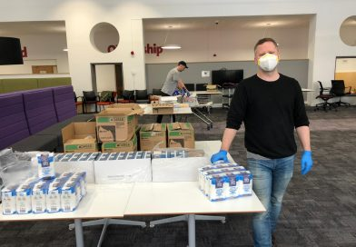 Council delivers emergency food to vulnerable people