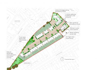 Plans for 47 homes on Broadbury Road revised following resident feedback