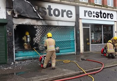 Fire at re:store guts the shop