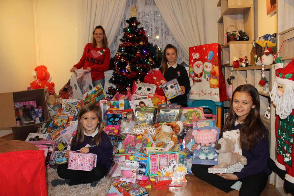 The huge amount of donations from the local community for the Children's Hospital