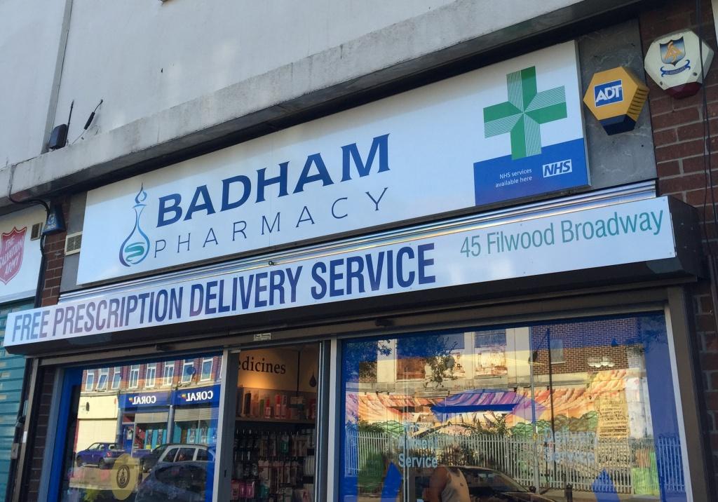 Badham Pharmacy on Filwood Broadway