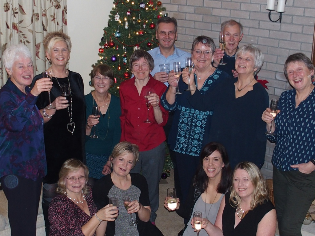 Staff, volunteers and trustees of Home-Start Bristol celebrate news of the Big Lottery award.