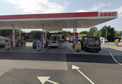Man detained after knife incident at Hengrove Way petrol station